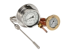 NOSHOK vapour-actuated remote thermometers from AMS Instrumentation and Calibration