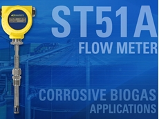 FCI's ST51A biogas flow meter