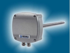 Michell's DT282 duct mount relative humidity and temperature transmitter