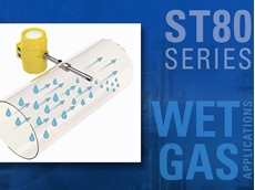 FCI's wet gas MASSter sensor for ST80 Series flow meters