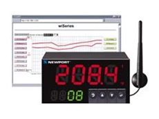 Newport wiSeries 1/8 DIN panel meter and controller available from AMS Instrumentation and Calibration