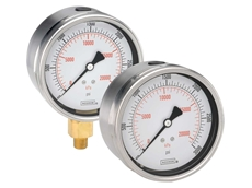 Noshok High Quality Gauges from AMS for Pulsation, Vibration and Shock Resistance