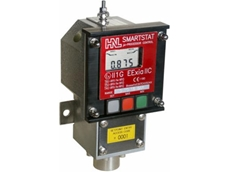 Smartstat pressure switch available from AMS Instrumentation & Calibration