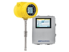FCI's thermal mass flow meters are ideal for measuring WIP boiler system intake air and back-end flue gases