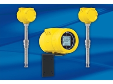 Thermal mass air/gas flow meter