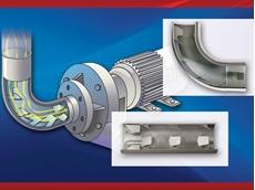 Vortab flow conditioners enhancing pump efficiency and service life