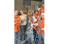 BOC provided welding equipment and training to a group of Wagga Wagga women