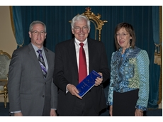 GOVEA 2012 award winner Pat Boland, ANCA with Dalla Riva and Governor Marilyn Warren