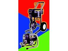 Airlessco airless spray pump system.