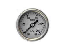 40mm stainless steel pressure gauge