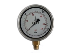 ANZ Controls offers heavy duty pressure gauges