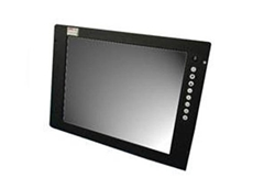 Rugged slimline display panel