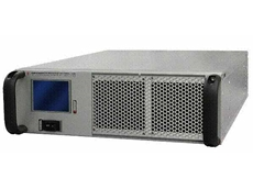 3000-6000 MHz 50 watt rugged amplifier system