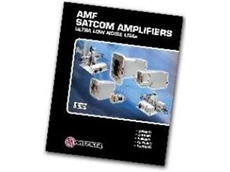 AMFW catalogue of SATCOM waveguide amplifiers