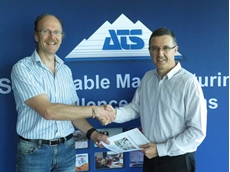Erwin Jansen with Armin Fahnle, new Managing Director of ATS Australia