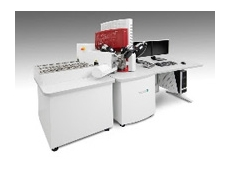 The TESCAN Integrated Minerals Analyzer (TIMA) with new automated sample loader.