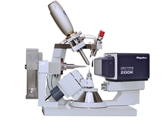 The Rigaku Oxford Diffraction Synergy-S single crystal diffractometer with Pilatus 200K hybrid photon counting detector
