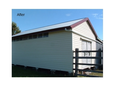 After - Cladding adds both value and protection to your structures