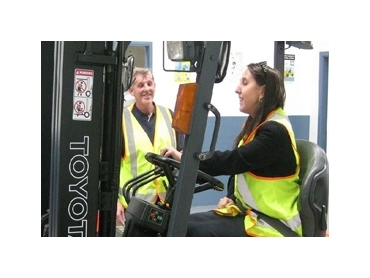 Corporate Forklift onsite training