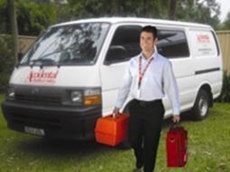 On-site care service for first aid kits