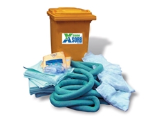 Sorbents and spill containment kits available from Accidental Health and Safety