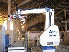 Fuji-Ace's robotic palletising equipment