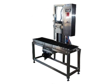 Single head liquid filling machines available from Budpak / Accuweigh