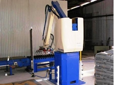 Fuji-Ace EC-101 robotic bag palletiser