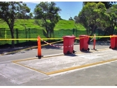 Accuweigh pit weighbridge at the Transpacific Industries' Botany Bay collection centre