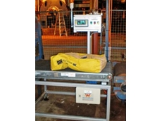 Accuweigh's Accu-Check inline industrial checkweigher