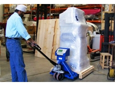 Accuweigh cost effective pallet truck scales