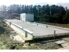 Accuweigh's concrete deck weigh bridge for landfill site