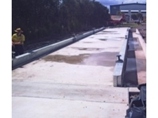 Shallow Pit Weighbridge at the SEQ Hauliers site