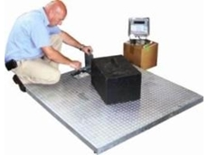 Heavy duty platform scales from Accuweigh