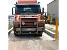 Onsite truck weighing