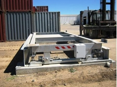Shipping Container Weighers