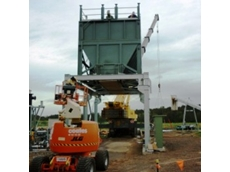Accuweigh weigh hopper on site at the Maroochydore waste treatment plant