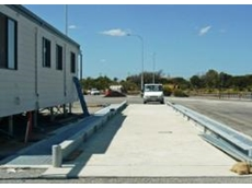 Semi-pit weighbridge