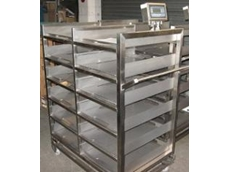 Mobile trolley weighing systems for medical company