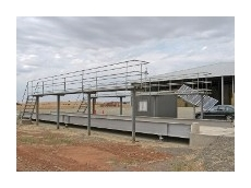 Accuweigh supply electronic weighbridge for hay producer
