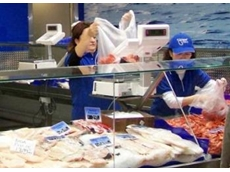 Price computing scales for seafood retailer