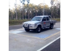 A trade axle weigher will be supplied for a NSW RTA checking station