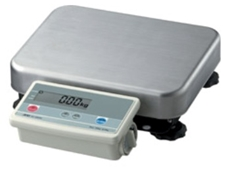 Bench scales used in sweet making.