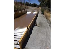 GeoWell Wash Bridge 1100 wheel bath