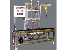 Drum filling system from Accuweigh for chemical manufacturer