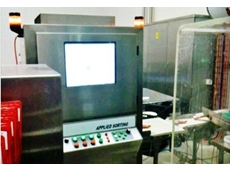 XR series food x-ray machines can also simultaneously function as a checkweigher