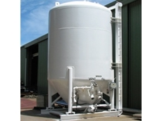 Weighing equipment from Accuweigh was installed on these portable silos
