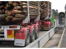 Unattended weighbridge terminal for forestry software