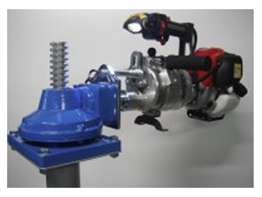 Lightweight and practical solution to infrequently used valves