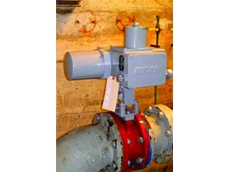 Direct-coupled Beck actuator on Filter